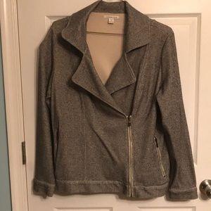 Tweed motorcycle jacket